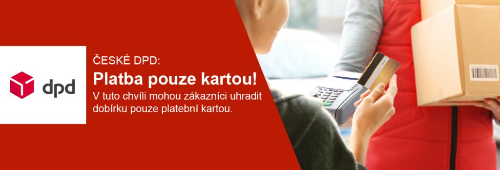 Zásilkovna DPD platba kartou