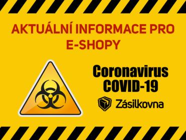 Zásilkovna coronavirus