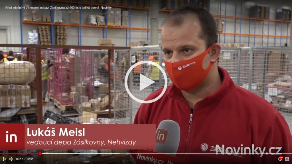 Zásilkovna depo Nehvizdy Novinky.cz